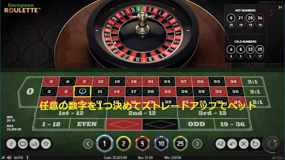 フラワーベット法の賭け方①